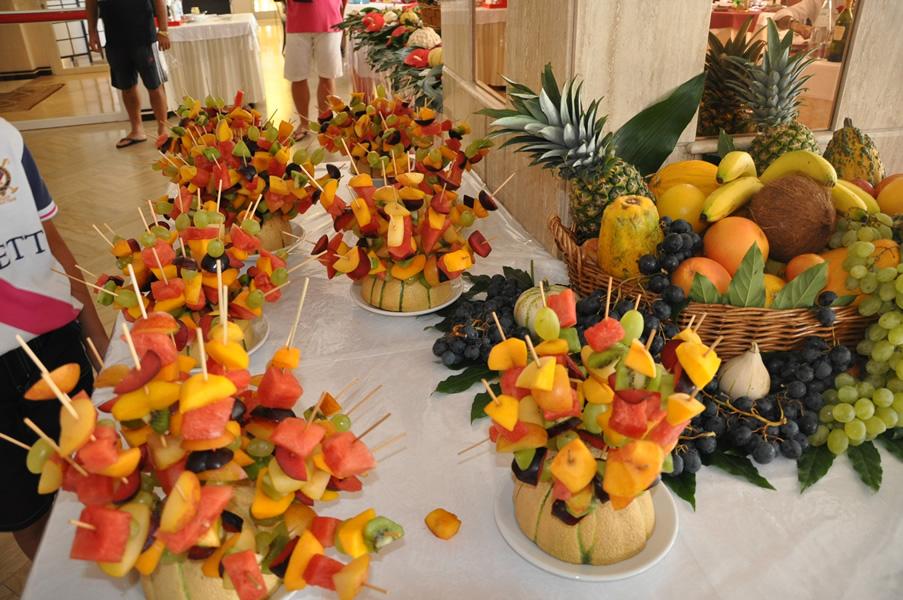 Buffet Di Dolci E Frutta : I buffet lido degli estensi